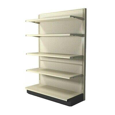 Used Gondola Shelving For Retail Display Or Storage. Can Be Setup As Dual-side.