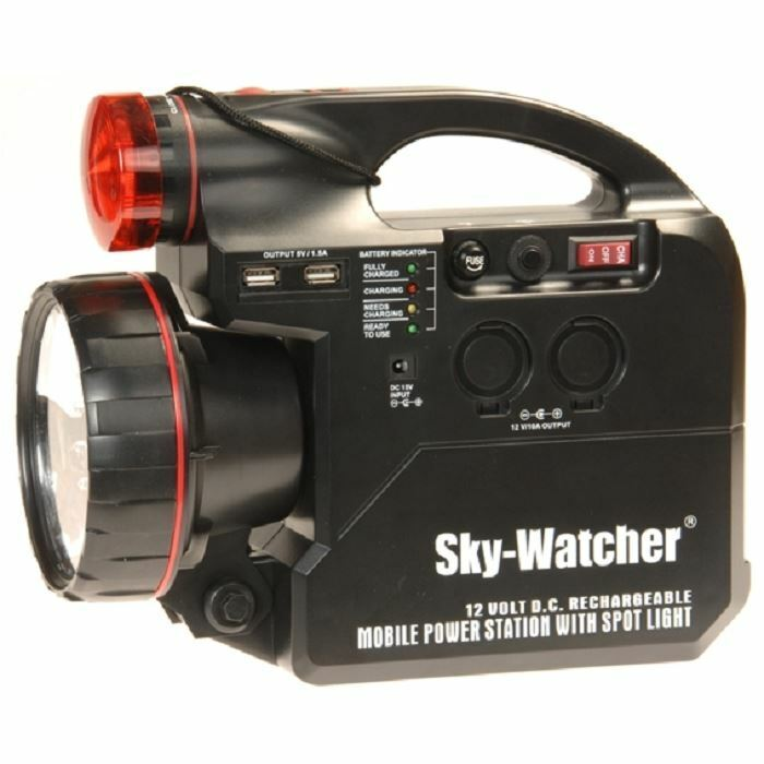 Sky-Watcher 7Ah Rechargeable Power Tank for Astronomy Telescopes 12v, MPN 20153