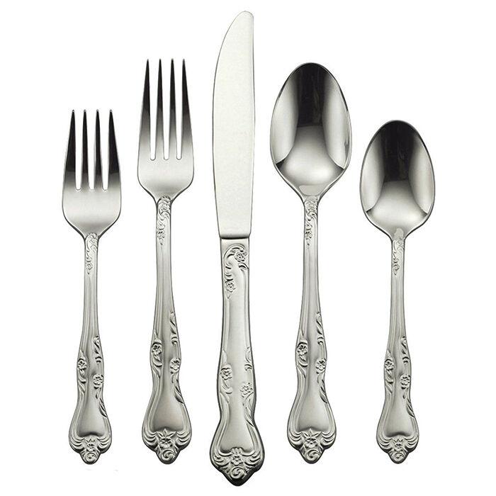 Top 5 Oneida Stainless Steel Flatware Sets EBay