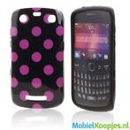 Silicon Hoesje voor Blackberry 9360 9370 Curve Dark Love