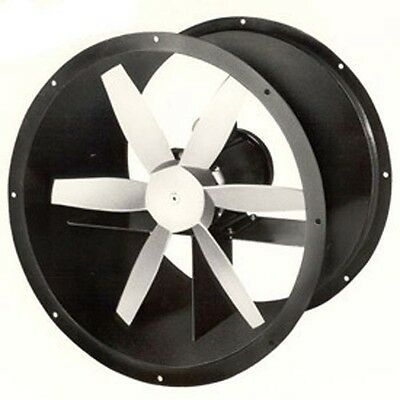 12 Explosion Proof Tube Axial Exhaust Fan 4 Blades - 3 Ph 14 Hp - 230460 Volt