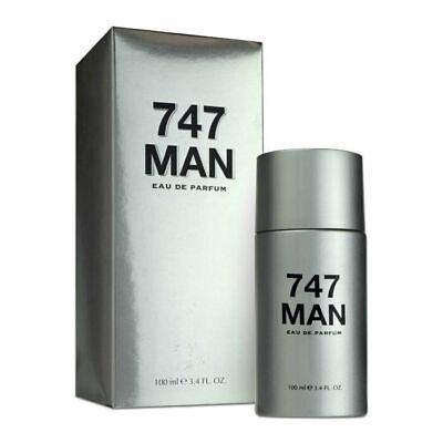 747 MAN MEN EAU DE  PARFUM PERFUME 3.4 OZ COMPARE TO 212