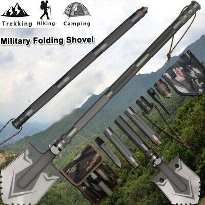 Multi-functional Military Folding Shovel Survival Spade Emergency Garden Camp BT
