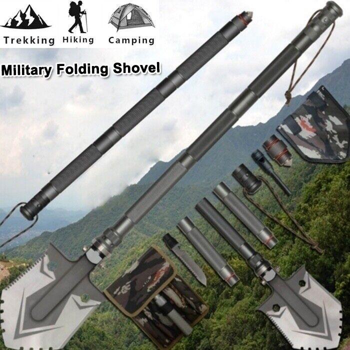 Military Folding Shovel Set Camping Survival Emergency Spade