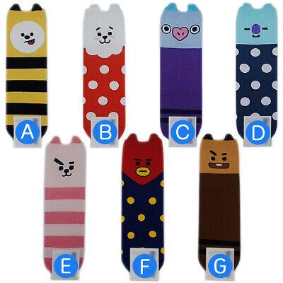 7 Pairs of socks /1 Package Famous K-pop Boys Cute Fashion Sock Made in Korea