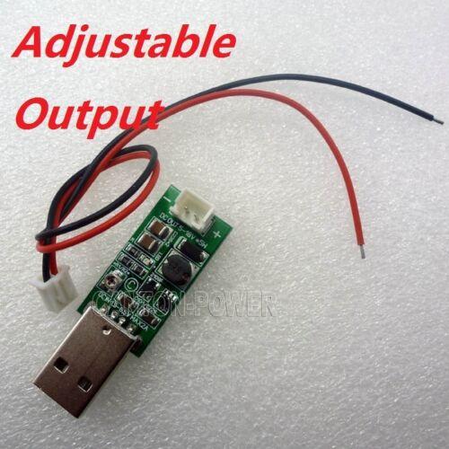 DC-DC Converter USB Step Up Boost Power Supply Module DC 5V to 6-12V Adjustable