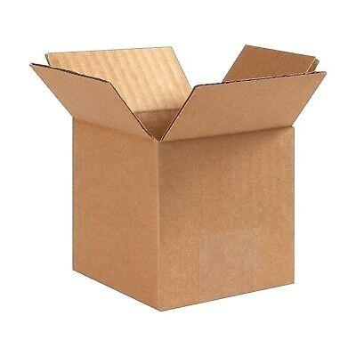 25 Count - Coastwide - 4 X 4 X 4 32 Ect Shipping Boxes 4x4x4 - Free Ship
