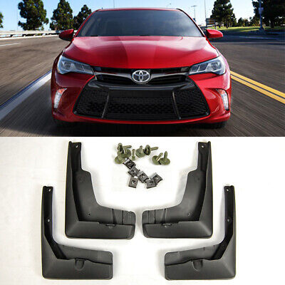 For 15-17 Toyota Camry OE Front Rear 4PCS Set Fender Splash Mud Guards Flaps