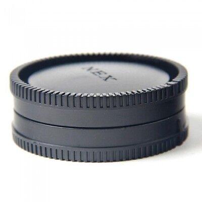 Body And Rear Lens Caps For SONY E Mount Camera & Lens NEX3 NEX5 NEX7 UK Seller