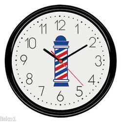 Scalpmaster #BX9002 Barber Shop Battery operated Wall Clock 9-1/2 round