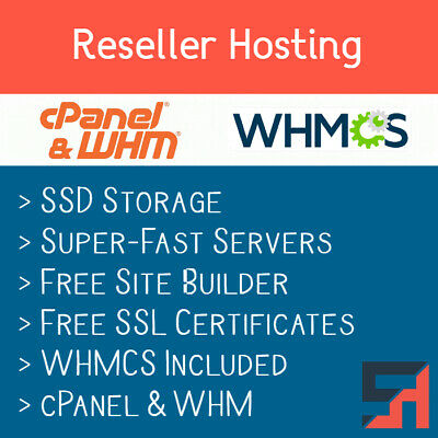 Reseller Hosting Whmcs - Unlimited Everything Free Ssl Certificates More