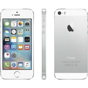* New * Unlocked * Apple iPhone 5S * 32GB * Silver / White *