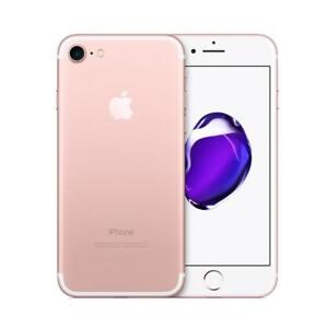iPhone 7 32GB Rose Gold UNLOCKED 10/10 condition  $340 FIRM