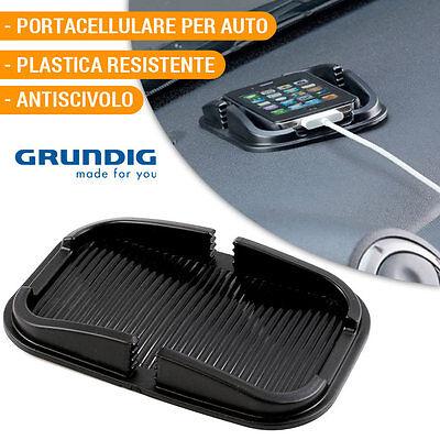 Porta Smartphone Navigatore Per Auto Plastica Antiscivolo Portacellulare Grundig