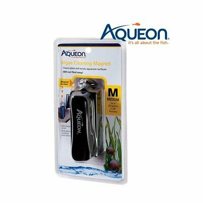 Aqueon Glass/Acrylic Aquarium Algae Cleaning Magnet Medium For Up to 125 Gallon