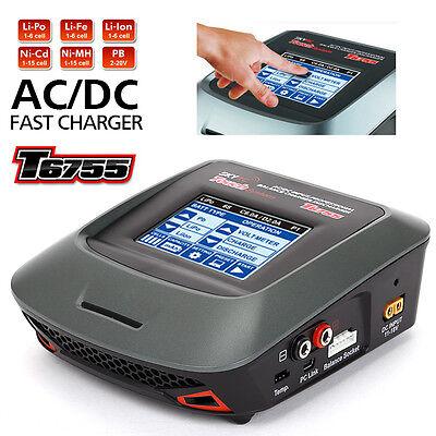 SKYRC AC / DC T6755 Balancer Charger Ladegerät LCD LiPo/LiFe/NiCd/NiMH Batterie