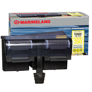 New in box Marineland filter and heater for sale
