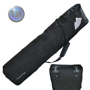 NEW Snowboard Wheelie Padded Travel Bag 170cm Black HIGH Quality Nice Design