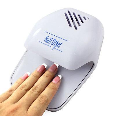 Fashion Portable Hand Finger Toe Nail Art Polish Paints Dryer Blower Mini Tool