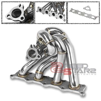 (K04 1.8T STAINLESS TURBO EXHAUST MANIFOLD 40MM WASTEGATE FLANGE PORT+GASKET)