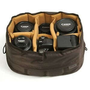 Ciesta-Flexible-Camera-insert-L-Partition-Padded-Bag-Case-for-Nikon-Canon-DSLR