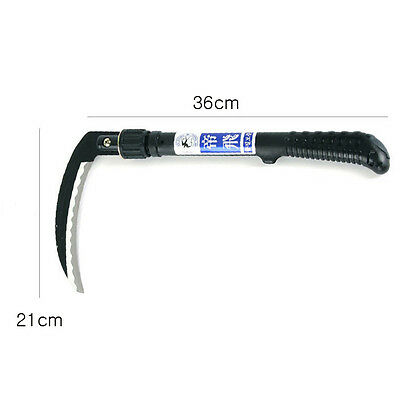 Folding Special steel hand sickle Garden weed ...