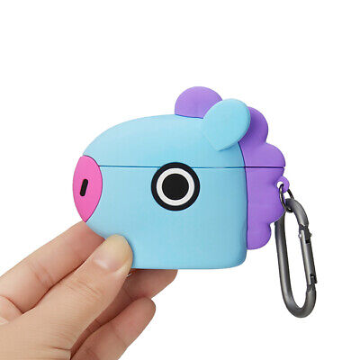 LINE FRIENDS BT21 MANG Basic Case for AirPods Pro w Keyring Official Goods BTS