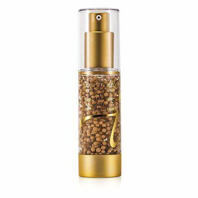 Jane Liquid Foundation (Jane Iredale Liquid Mineral A Foundation - Amber 30ml Foundation & Powder)