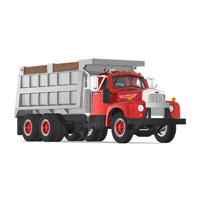 2018 FIRST GEAR 1:64 *MACK B-61* Red & Grey DUMP TRUCK* NEW TOOLING *NIB*