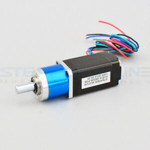 5 1 planetary gearbox nema 8 stepper motor small size high for How to size a stepper motor