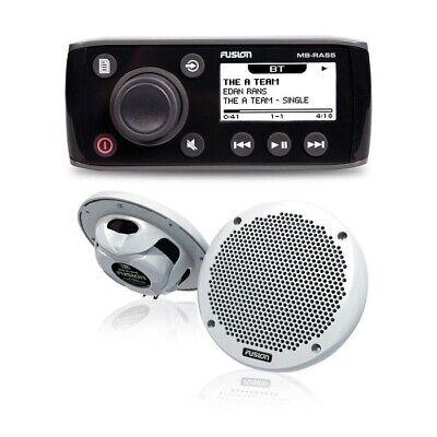 Fusion MS-RA55KTS Marine Stereo Kit with Pair of EL-602 6