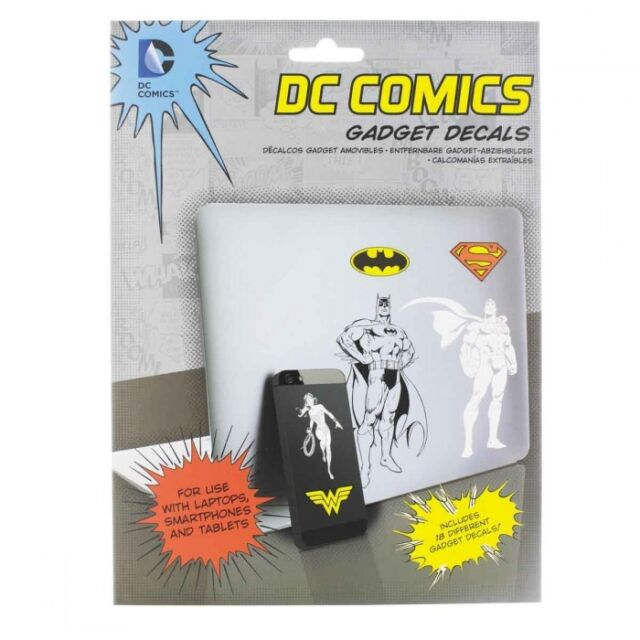 Lot 18 stickers official Super héros DC Comics official stickers Lot