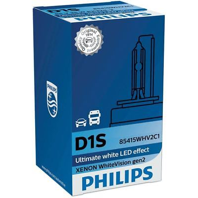 D1S Philips WhiteVision gen2 Xenon HID Scheinwerfer 85415WHV2C1 1x 5000K