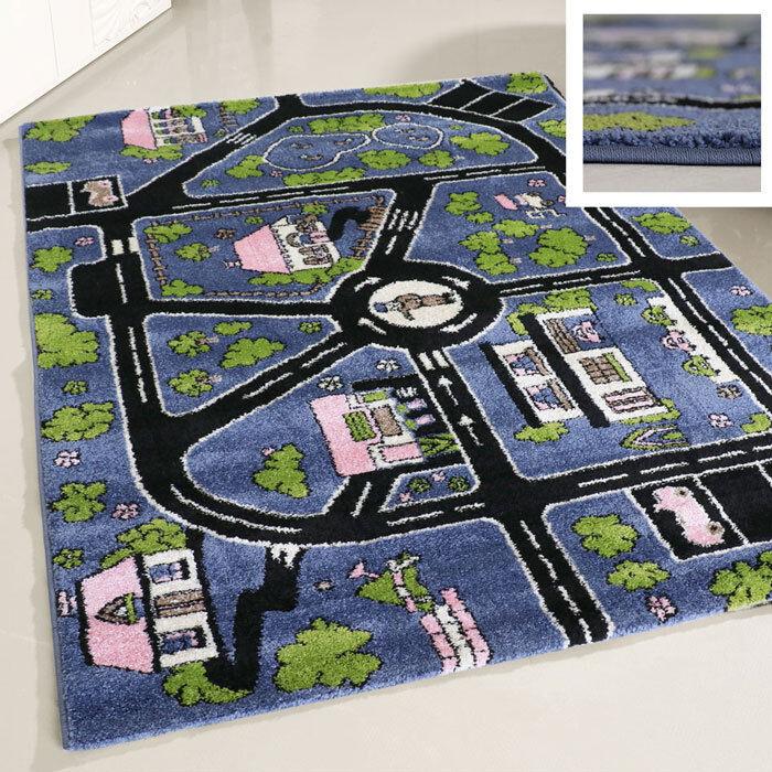 Kinderteppich Spielteppich Straßenteppich Junge 120x170 cm Auto Autoteppich NEU