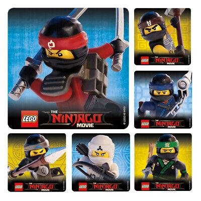 25 LEGO The Ninjago Movie   Stickers Party Favors Teacher Supply Ninja - The Lego Movie Party Supplies