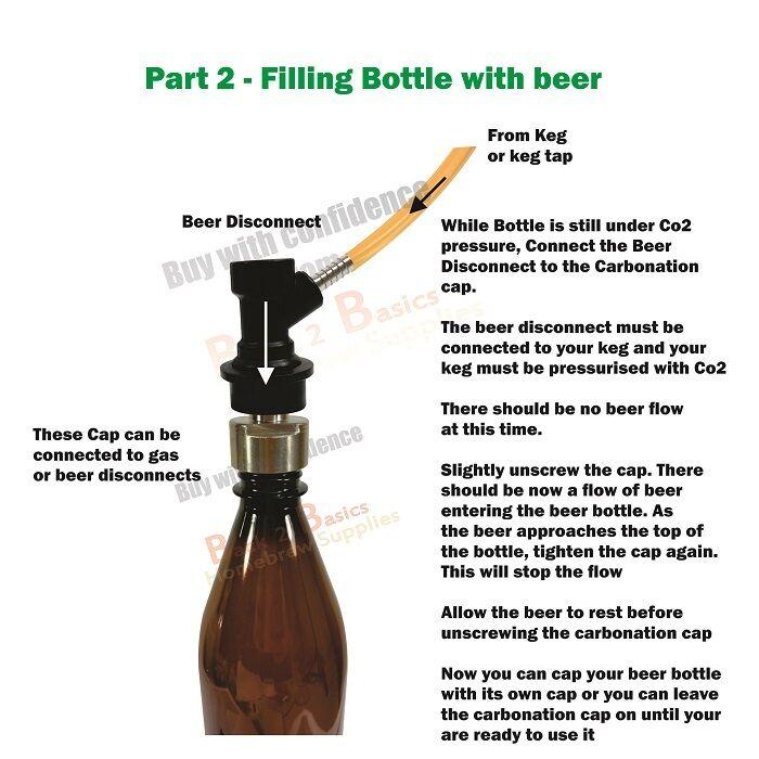 counter pressure bottle filler instructions