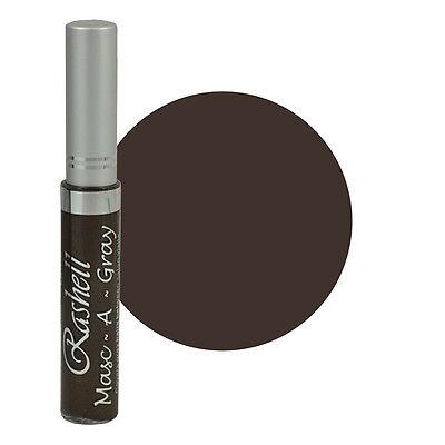 Rashell Masc A Gray Hair Color Mascara Gray Touch Up 9mL Warm Brown 103 Gray Hair Mascara