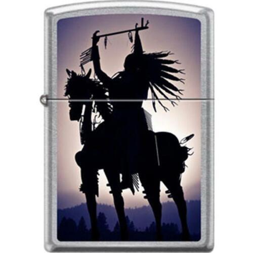 Zippo Lighter - Warrior on Horse Street Chrome - 854727