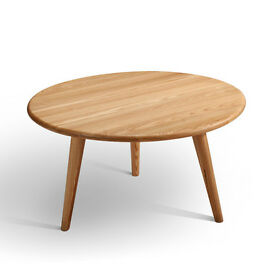 Classic design coffee table in solid ash (including delivery to UK mainland)