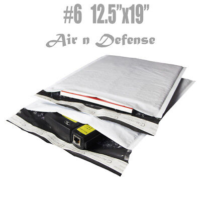 200 6 12.5x19 Poly Bubble Padded Envelopes Mailers Shipping Bags Airndefense