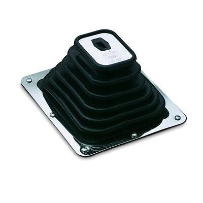Hurst Shifter Installation - Hurst Shifter Super Boot & Plate 8-3/4 x  7-3/4 OD for Large Hole Installations