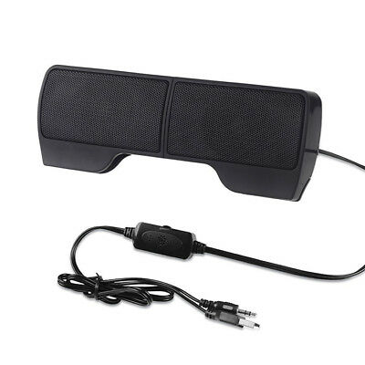 P01 mini tragbarer Lautsprecher über 3.5mm Klinke USB für LAPTOP PC NOTEBOOK Mini Laptop Lautsprecher