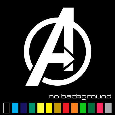 Avengers Sticker Vinyl Decal - Marvel Comics Superheroes A Logo Car Window Truck](Marvel Stickers)