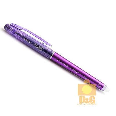 Pilot Frixion Colors Erasable Marker 0.4mm Gel Pen Purple Lf-22p4