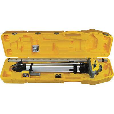 Spectra Precision Ll100 N-1 Self Leveling Laser W Tripod Rod In 10ths Hr320
