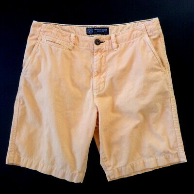 American Classic Orange Light - AEO American Eagle Outfitters Mens Shorts 32 (34