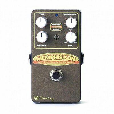 Keeley Memphis Sun Lo-Fi Reverb, Echo & Double-Tracker Pedal