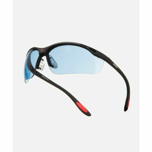 New GEARBOX VISION EYEWEAR BLACK FRAME BLUE LENS HARD CASE Racquetball Dealer