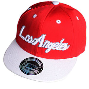 KIDS / JUNIOR LOS ANGELES EMBROIDERED BASEBALL CAPS,SNAPBACK,ONE SIZE, KB ETHOS