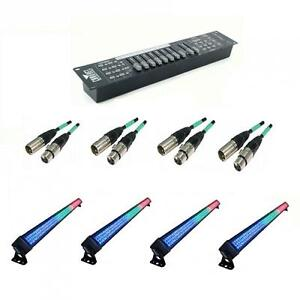 ** SPECIAL PACKAGE**  BIG DIPPER L004 LED BAR WASH LIGHTING PACKAGE